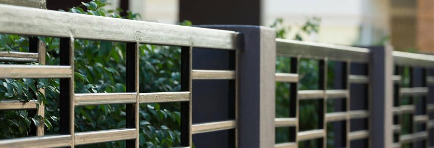clôture en PVC