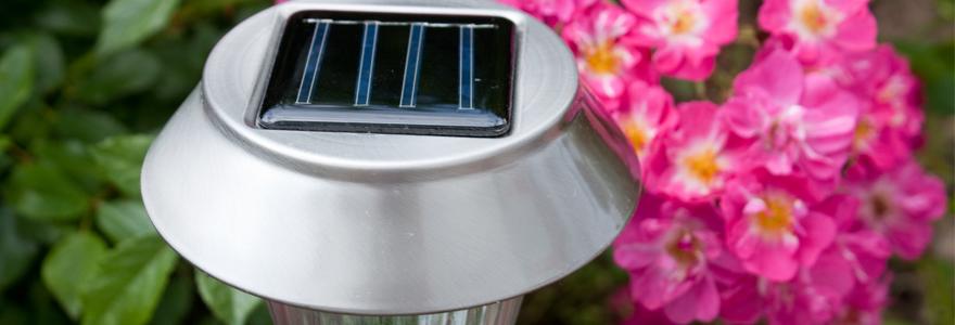 éclairage extérieur photovoltaïque